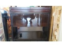 Brown heated hostess trolley in great condition...