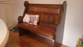 Lovely antique Welsh pew for sale