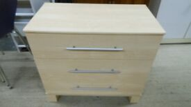 gorgeous chest of drawers with 3 large drawers. excellent condition. can deliver