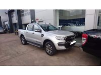 """Genuine Ford Ranger Wildtrak 18"""" Alloy Wheels & Tyres used for 50 miles perfect condition."""
