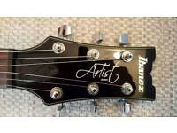 IBANEZ ARTIST SERIES ARZ400 IN VERY GOOD CONDITION, WITH ORIGINAL PICKUPS.
