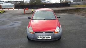 Ford KA 1.3 with only 26000 miles drives very well mot April
