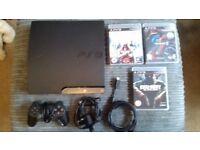 Playstation 3 - Slim - 320 GB - 3 Games - Windermere