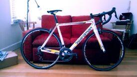 Boardman Performance Series Pro Carbon SLR road bike - white/yellow