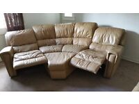 NEW LOWER PRICE Electric Leather Suite 5 Seater, Storage stool, 2 Seater and a Chair Bargain!!