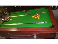 6x3 Supreme Prince Pool Table