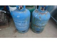 2 x Calor gas bottles - FREE