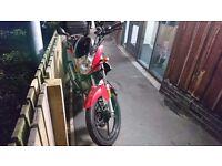 125cc Honley hd2 motorbike