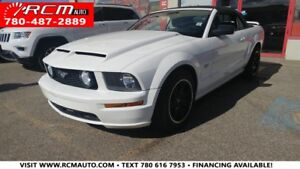 2007 Ford Mustang GT Premium CONVERTIBLE SHAKER 500 AUDIO