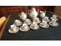 Japanese Eggshell China Tea Set dating from 1920s