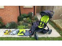 Phil and teds dot double pushchair v1