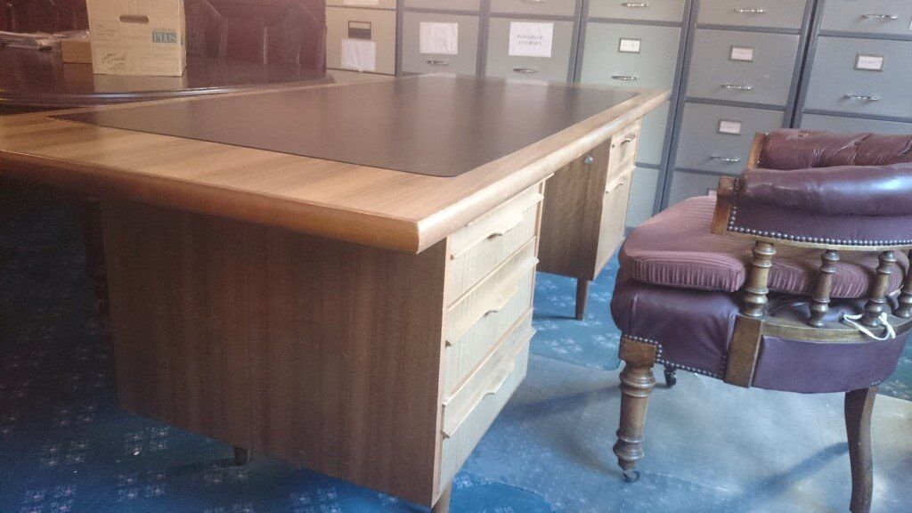 Reduced 60s 70s Mcintosh Style Mid Century Modern Teak Office Desk In Dunfermline Fife Gumtree