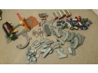 Job lot of Thomas tank engine track and trains