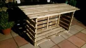 log storages kids mud kitchens ect