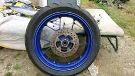 Aprilia RS 125 rear wheel