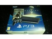 Boxed ps3 supper Slim 500gb with 18 games plus more