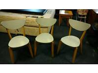 Funky chairs x 4