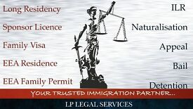 Immigration Specialist - Tier 1, Tier 2, Tier 4,ILR, EEA Family Visa, Bail, Appeal, FLR(O)