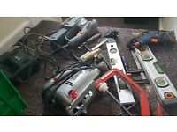 Selction diffrent tools