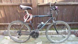 15 speed black mountain bike (£95) in Waltham Forest