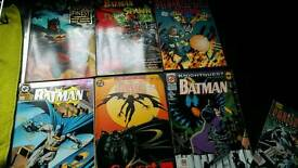 Job lot batman and spiderman comics