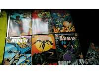 Job lot batman and spiderman comics