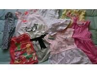 Girls 1-2 dresses, tops, legging