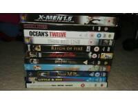 11 DVDs