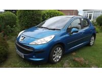 Peugeot 207 SE with panoramic roof, 5 door, two keys, stunning looking, only 2 owners since 2008,