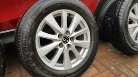 Mazda CX-5 alloy wheels and tyres