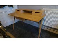 Ercol Treviso Oak Desk Designed By Matthew Hilton Modernist Scandi Style Cost £1550