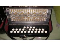 3 -Accordion button **C/F ****8 button bass accordion/ accordian****good play