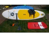 Two bear feet paddle board 10, 6