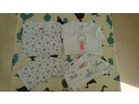 mini Boden pack of 2 pyjamas, top and short, size 7 yrs old, hardly used, as good as new