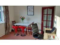 Home workspace available for hire during the day in Ashford