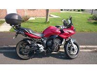 Yamaha FZ6 FAZER 2006 (599cc) RED