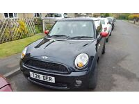 Mini Cooper 2006 R56 Black,mot,d. Very sporty looking