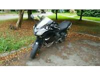 2010 kawasaki er6f black on silver 11k miles
