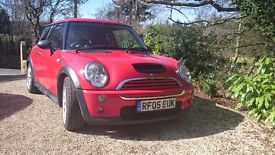 Mini cooper s R53 works spec engine.