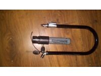 Bike lock & is unbreakable, brilliant condition