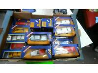 19 BOXED 80S CORGI CAR COLLECTION