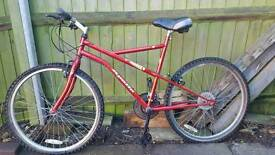 Mountain bike, project spares.