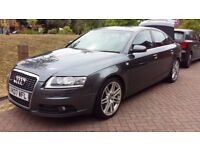 Audi A6 Saloon 3.0 TDI S Line 3 Owners, Part service history, MOT Due: 24/07/2018
