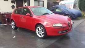 BREAKING FOR PARTS ALFA 147 2.0 T-SPARK SELESPEED