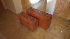 Pigskin Leather Suitcases