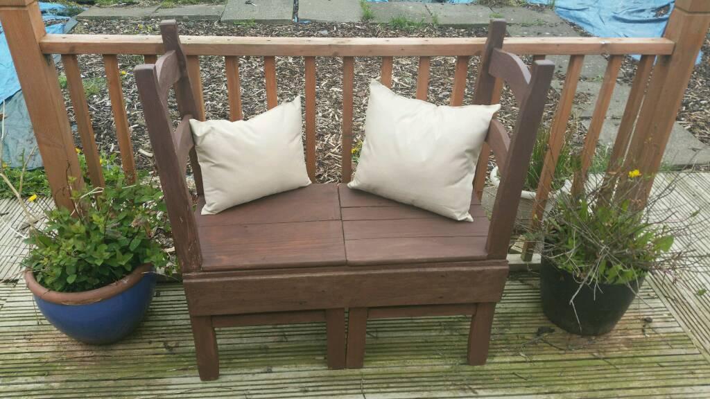 Wondrous Rostic Handmade Garden Bench In Dundee Gumtree Inzonedesignstudio Interior Chair Design Inzonedesignstudiocom