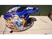 Motocross clothing/ helmets