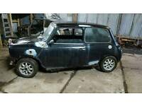 Classic mini project,998cc,disc brakes,ideal for parts,door,breaking
