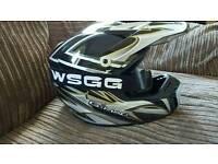 G-mac Motox motocross motorbike helmet size M