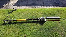 Ryobi extending electric hedge trimmer, not had a lot of use in good order see photos for condition.